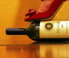 Red on ....red (VYNO) Tags: red girl shoe wine heel anawesomeshot highheelsart