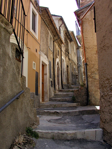 Street in Castrovalva by LostBob