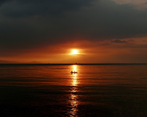 Manila Bay Sunset - 1