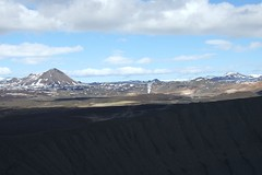 Something's exploded (aosher) Tags: mountains iceland crater myvatn