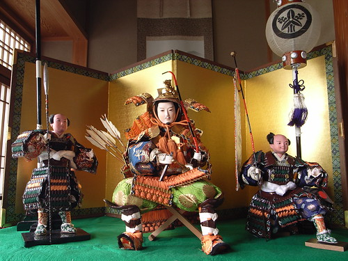 Samurai general dolls