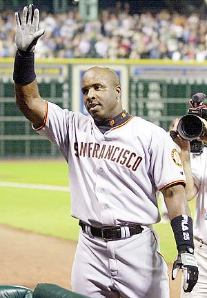 Barry Bonds in 2001