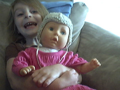 Heather and doll