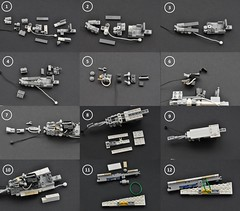 T-65 X-wing: V2 (instructions  Page 1) (Inthert) Tags: lego t65 fighter sfoils x wing starfighter moc ship star wars rebel rogue one squadron income red5 r2d2 luke skywalker instructions breakdown astromech blue
