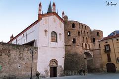 Mura Romane, Susa (f.cevrero) Tags: wall roman mura romane winter church chiesa city center città valle susa alps monument architecture architettura nikon d3200