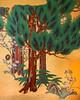 Kanrantei (campra) Tags: japan miyagi 宮城県 matsushima 松島 観瀾亭 kanrantei tea house panel door shoji painting gold