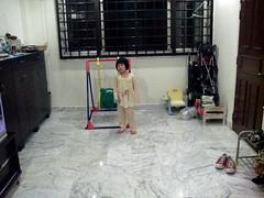 Faith plays ball with me