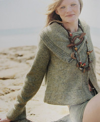 Ram's Horn Jacket (LollyKnit) Tags: knittingnature norahgaughan ramshornjacket cascadelanadoro