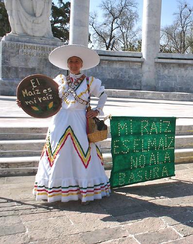 corn protest