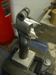 prepping for brazing - 1 (MonkeyB) Tags: bike bicycle custom framebuilding rohloff ivycycles handbuild