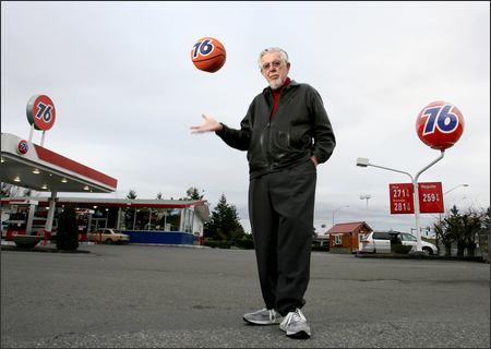 76 ball designer ray pederson by scott eklund of the seattle pi