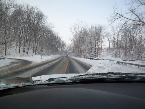Winter's Drive: Past Panorama Plaza