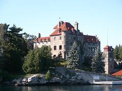 Singer castle (peter231979) Tags: brick castle singer stlawrenceriver