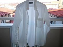 Shirt before iron