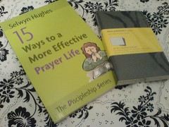 Prayer Journal... gotta be a moleskine