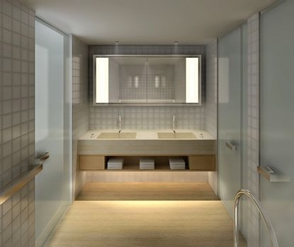 GRAMERCY PARK - bathroom