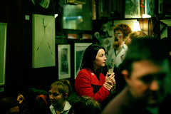 #Ireland: The woman with a red coat (Frederic Poirot) Tags: city ireland red portrait people dublin woman beer face bar fun one pub alone drink coat social guinness attitude alcohol gathering portfolio redcoat poirot frederic grogan grogans fredarmitage redclothes exceptionalireland fredericpoirot