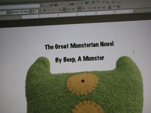 The Great Monsterian Novel