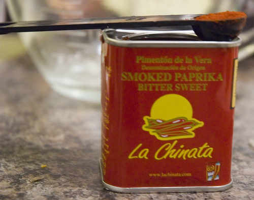 Bittersweet smoked paprika