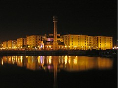 Albert dock Liverpool (Mr Grimesdale) Tags: reflection night liverpool dock nightlights 2008 pumphouse capitalofculture albertdockliverpool mrgrimsdale stevewallace capitalofculture2008 liverpoolcapitalofculture2008 europeancapitalofculture2008 albertdockatnight bbcredbutton photofaceoffwinner liverpoolcapitalofculture pfogold mrgrimesdale grimesdale