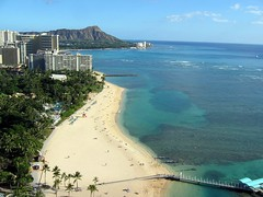 Diamond Head - The most awesome view (garyhymes) Tags: ocean blue people usa beach water beaut