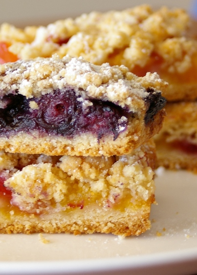 Fruit Crumb Bars