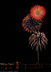 Firetree-02cz (caerwall) Tags: night fireworks coffsharbour