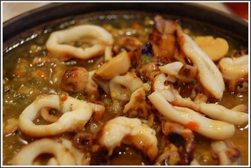 sisig squid