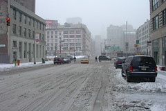 New York in the snow #17