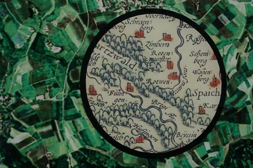 Landkarte von Schwarzwald