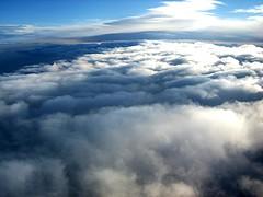 Estoy viendo amanecer (Artvideo Studio · Olesya & Luis Terleiro) Tags: sky plane dawn nuvola amanecer cielo aereo nube avion
