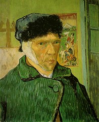 Van Gogh minus one ear
