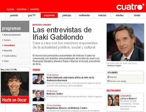 Iñaki Gabilondo - cuatro.com