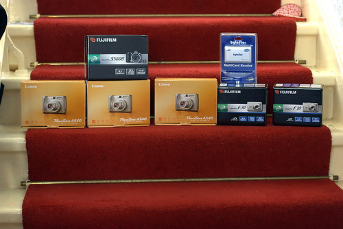 Six new cameras and a card reader