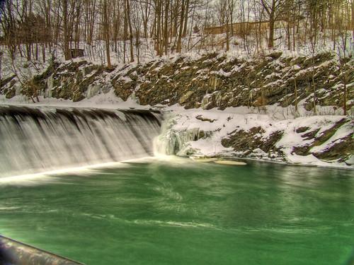 Pownal Tannery Falls