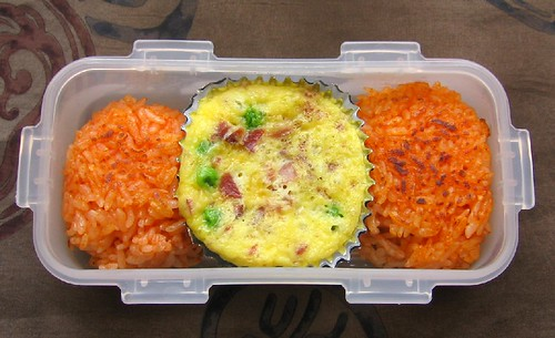 Speed Bento: stovetop mini frittata & multi-frying