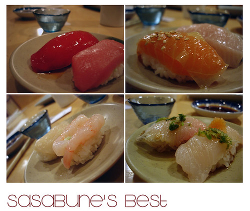 seafood jewels, Sasabune Omakase