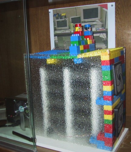 Google-Server aus Lego