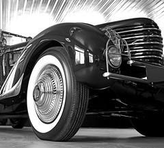 Oui. (Bobby Alcott) Tags: classic lines car french book automobile european garage artdeco deco jk streamline roadster delage 1935 clabot