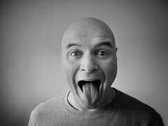 Aaaaaaaaaah! (Mnemonix) Tags: portrait me tongue self mouth michael explore worried 365 aaaah tongue8887b