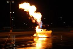 Tank Prop Is Lit (cozmosis) Tags: training arkansas firefighting firefighters mfd fireacademy pulaskicounty diamondcenter maumelle maumellefiredepartment lpgas arkansasfireacademy