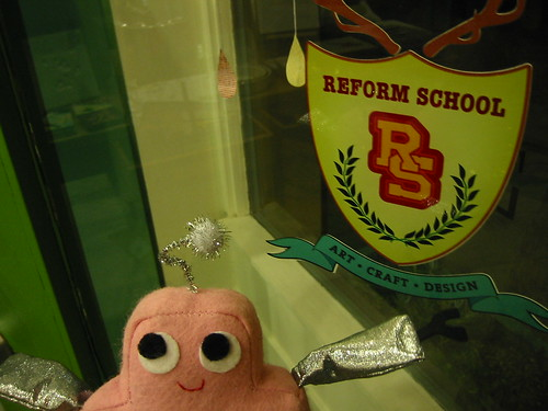 Pink Craftie at ReForm School