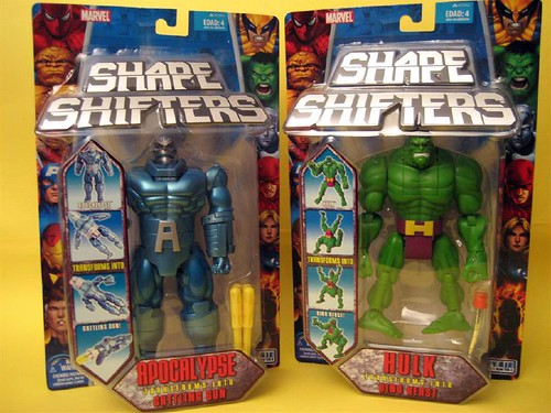 Marvel Shape Shifters