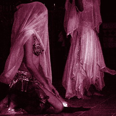 Veiled Mystery (Musical Mint) Tags: show portrait woman abstract girl beautiful mystery female dance costume blurry waiting experimental veiled veil audience feminine performance arts creative dramatic dancer literature romance international memory bellydance impression patience middleeasterndance musicalmint