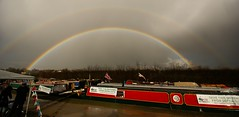 Wideangle Double Rainbow (algo) Tags: england sky clouds photography rainbow topf50 topv555 rainbows algo tring doublerainbow abigfave 200750plusfaves goldenphotographer