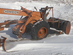 Champion no more (artchase) Tags: cold alaska bay rusting tundra grader