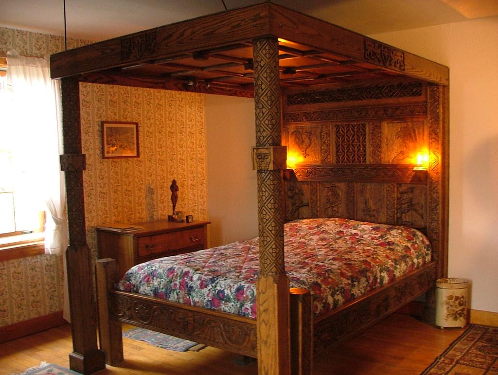 bed alight