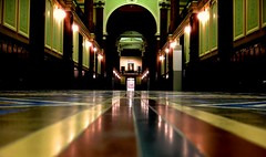 at the end of a corridor............. (LaTur) Tags: museum dc washington corridor hallway dcist damncool thenationalportraitgallery abigfave we3dc welovedc fotoweek fotoweekdc