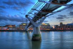 Millenium Bridge HDR