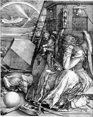 Albrecht Durer Melencolia I. Albrecht Durer, Melencolia I,